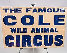 Cole Circus Poster