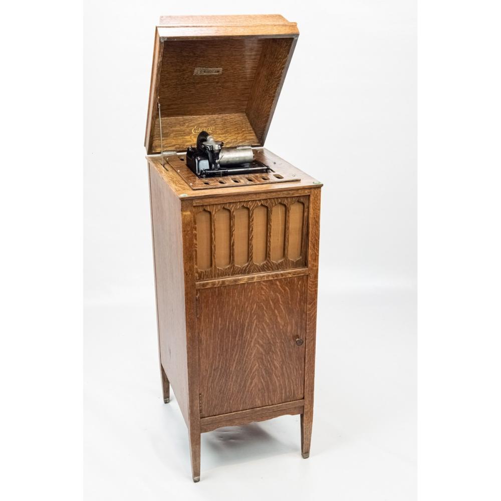 Edison Amberola 75 Oak Cylinder Phonograph