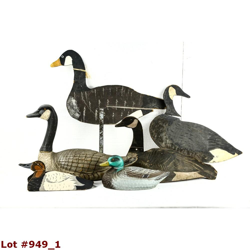 Lot of Misc. Duck & Geese Decoys