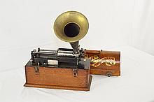 Edison Suitcase Home Phonograph