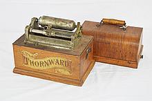 Thornward Cylinder Graphophone (Parts Machine)