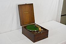 Orpheus Portable Suitcase Disc Phonograph Player