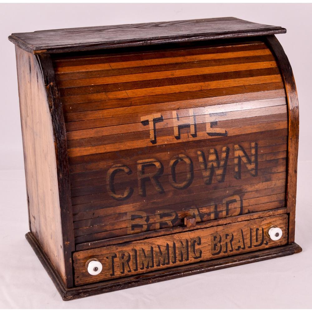 Crown Braid Roll Up Cabinet