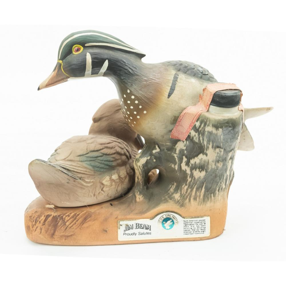 """2 """"Ducks Unlimited"""" Whiskey Decanters"""
