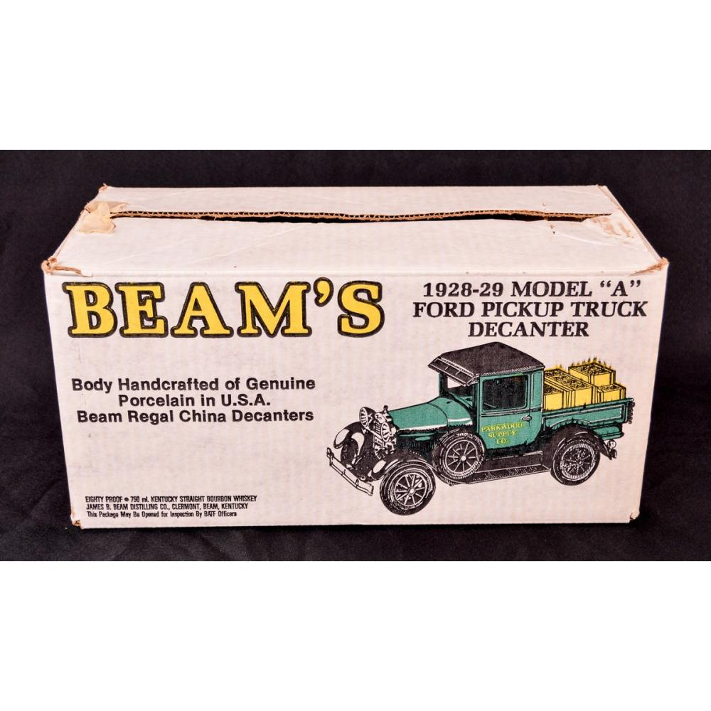 Lot of 2 Beam's Vehicle Decanters