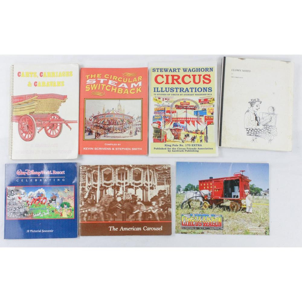 Lot of Circus Books