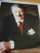 DON AMECHE AUTOGRAPHED PHOTO