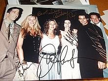TV SERIES FRIENDS SIGNED CAST PHOTO