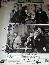 MEG RYAN AND KEVIN KLINE AUTOGRAPHED PHOTO