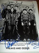 FREAKS AND GEEKS CAST SIGNED PHOTO