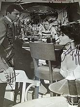 JAMES DARREN ALLEN JENKINS AND PAMELA TIFFIN  AUTOGRAPHED PHOTO