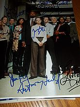 CAST OF BOSTON LEGAL AUTOGRAPHED PHOTO