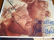 JANE FONDA AND JON VOIGHT SIGNED PHOTO