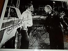 CHARLTON HESSTON AND GEORGE KENNEDY