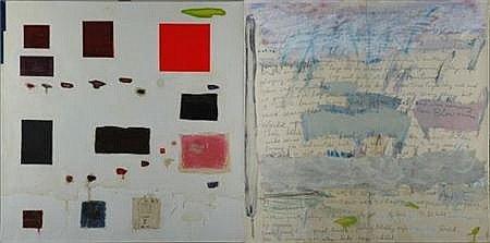 Joan Snyder American, b. 1940 Free to Imagine/Like My Child, 1985
