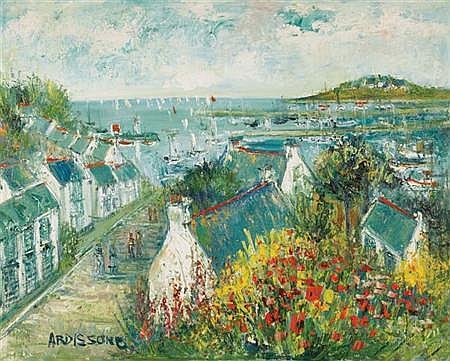 Yolande Ardissone French, b. 1927 Belle-Isle