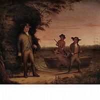 Otis A. Bullard American, 1816-1853 Landing the Boat, 1853