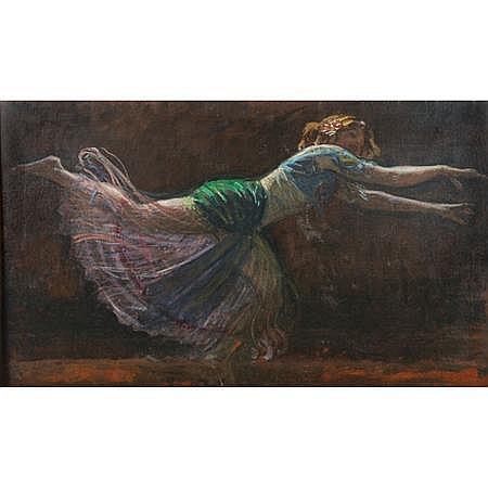 Charles Yardley Turner American, 1850-1919 Exotic Dancer