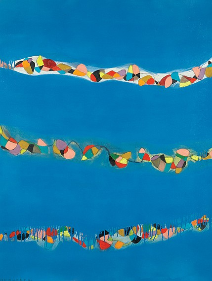Danny Simmons American, b. 1954 Untitled (Blue), 2004