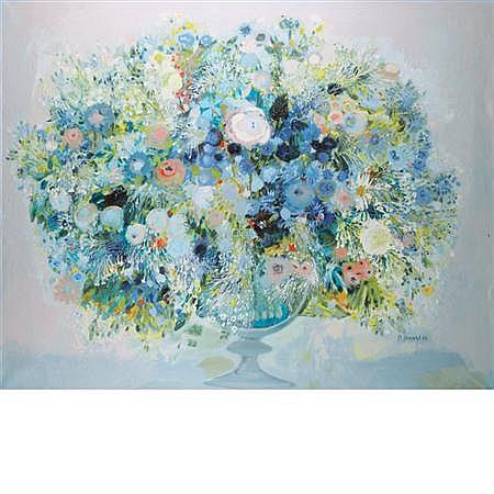 Monique Journod French, b. 1935 Floral Still Life, 1970