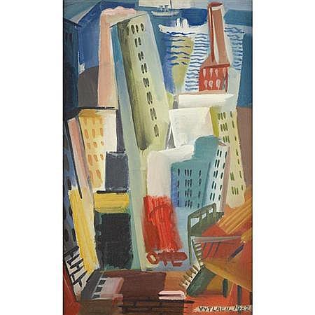 Vaclav Vytlacil American, 1892-1984 New York Street, 1932