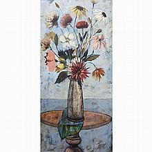 Charles Levier American, 1920-2003 Vase de Fleurs