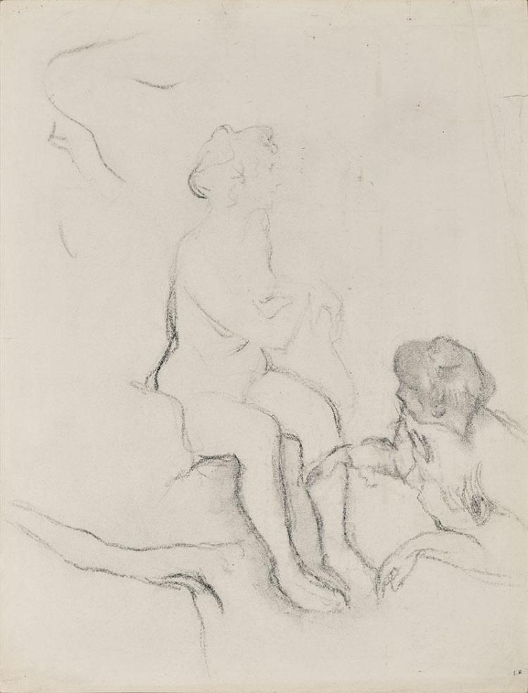 Edouard Vuillard French, 1868-1940 Deux Femmes