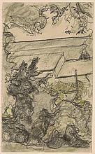 Edouard Vuillard French, 1868-1940 The Garden Wall, circa 1930