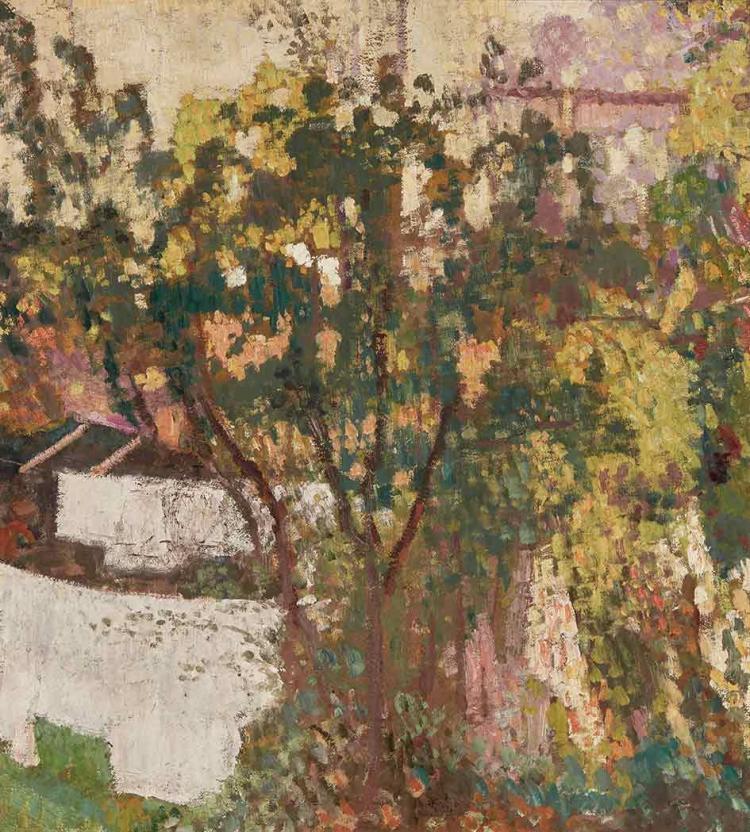 Georges Lemmen Belgian, 1865-1916 Grand Arbre, 1904