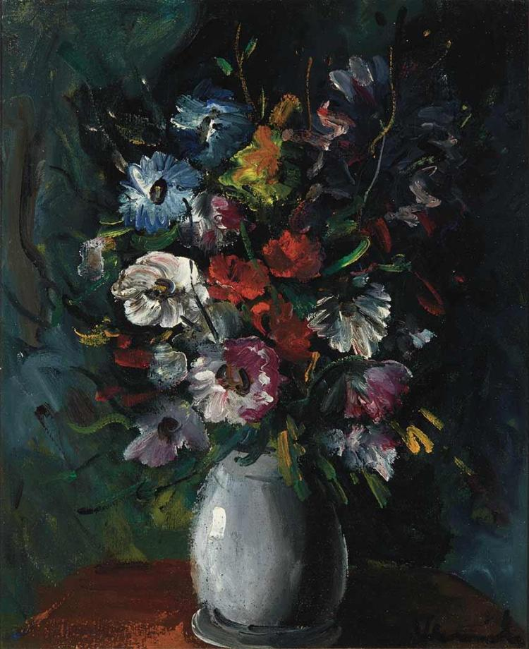 Maurice de Vlaminck French, 1876 - 1958 Bouquet de Fleurs