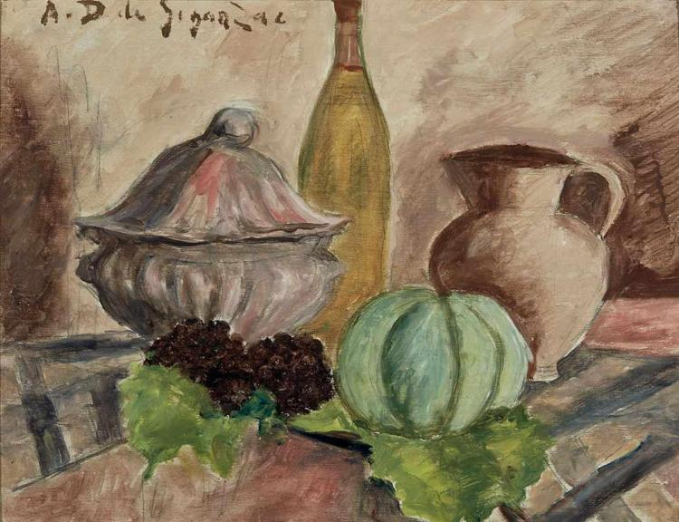 Andre Dunoyer de Segonzac French, 1884-1974 Le Melon