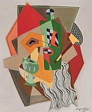 Georges Terzian French, b. 1939 La Bouteille Verte, 1999
