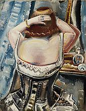 Paul Kleinschmidt German, 1883-1949 Woman at a Mirror