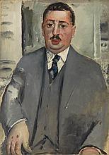 Paul Kleinschmidt German, 1883-1949 Portrait of Erich Cohn