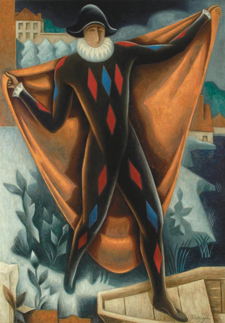 Jean Metzinger French, 1883-1956 Arlequin