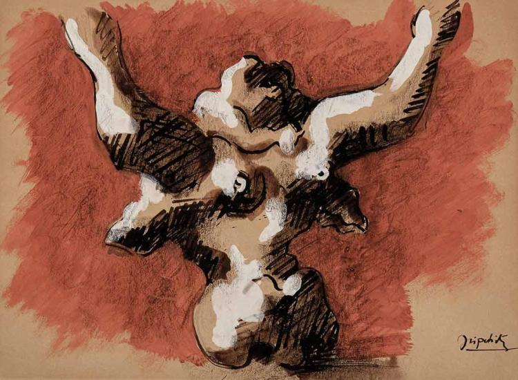 Jacques Lipchitz French, 1891-1973 Study for