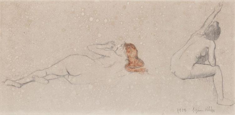 Suzanne Valadon French, 1865-1938 Modeles (Deux Nus), 1903