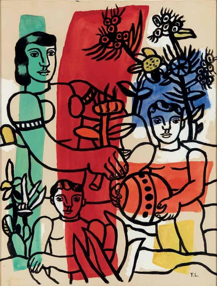 Fernand Leger French, 1881-1955 Le Bonheur