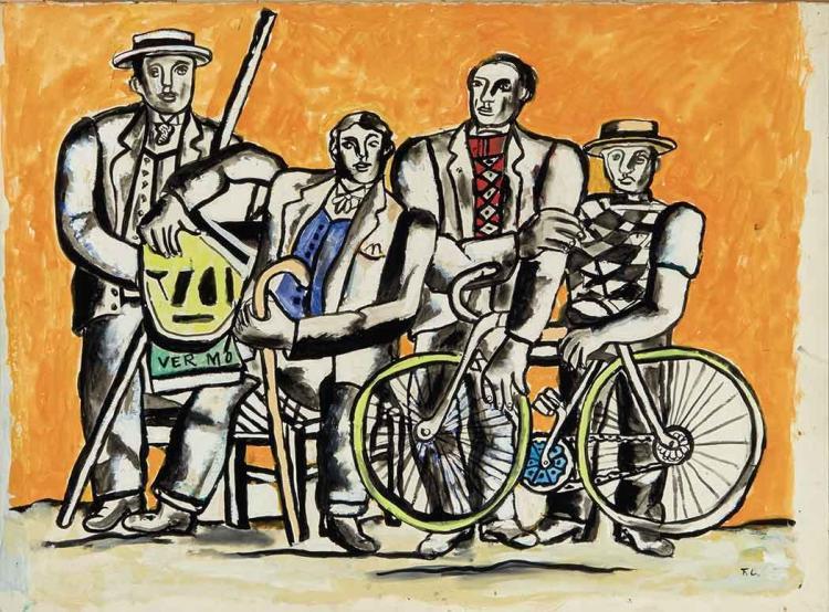 Fernand Leger French, 1881-1955 La Belle Equipe
