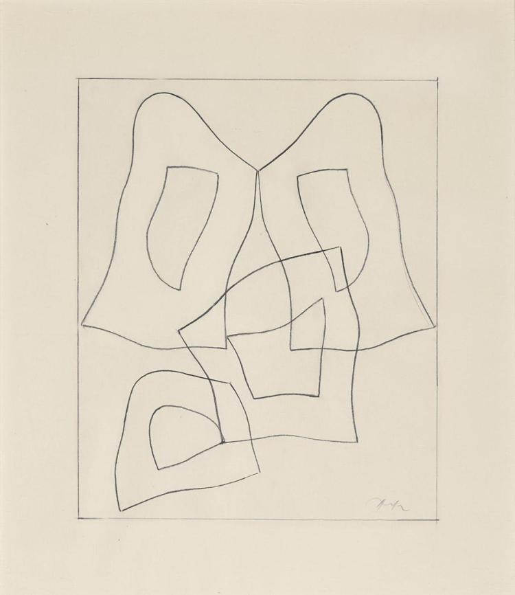 Jean (Hans) Arp French, 1886/87-1966 Forme Francaise, 1959