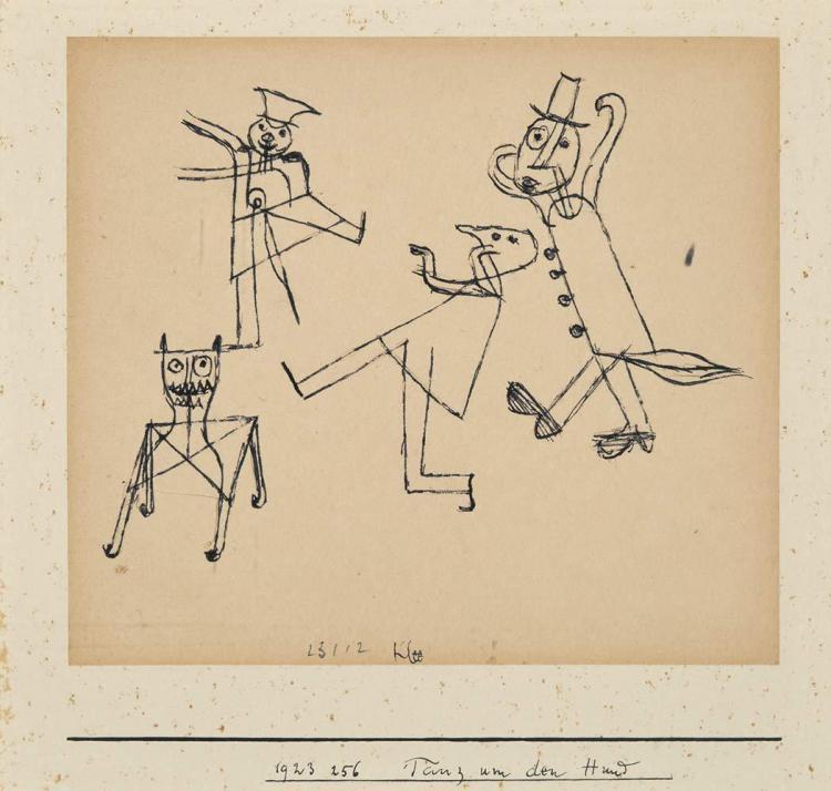 Paul Klee Swiss, 1879-1940 Tanz um den Hund, 1923