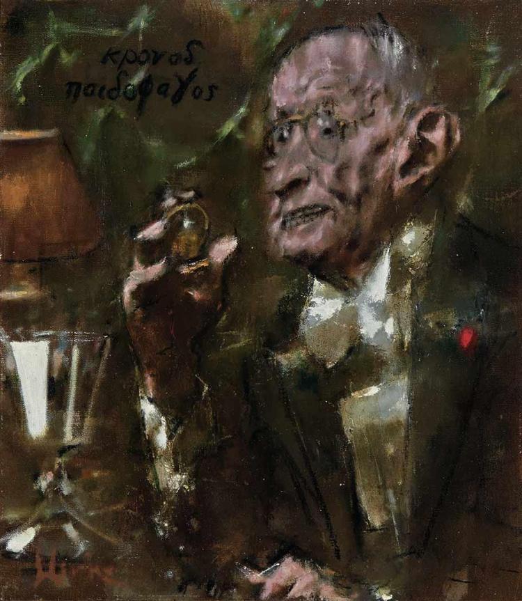 Jack Levine American, 1915-2010 Kronos, 1983