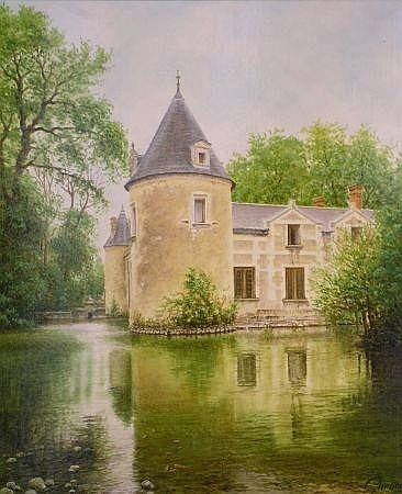 Lionel Garnier (called Garner) French, b.1931 MANOIR DE VILLEPERDUE
