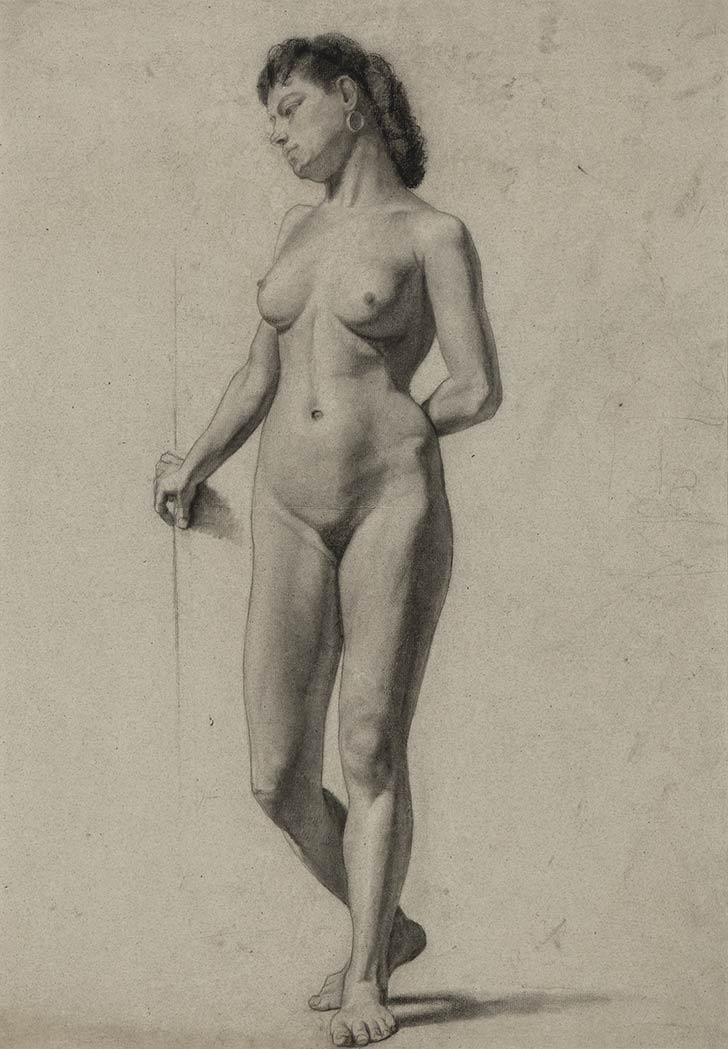 Female Nude Study 84