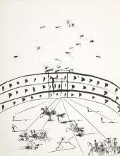 Salvador Dali Spanish, 1904-1989 The Tienta, circa 1962