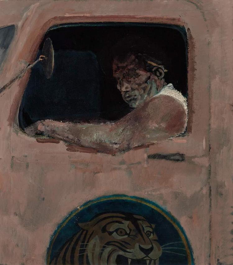 Joseph Hirsch American, 1910-1981 Trucker