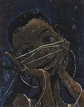 Hughie Lee-Smith American, 1915-1999 Cats Cradle, 1949
