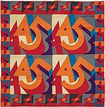 Fortunato Depero Italian, 1892-1960 Untitled (Tapestry)