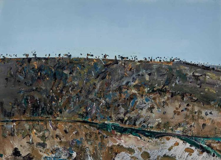 Frederick Ronald Williams Australian, 1927-1982 The Murrumbidgee River at Cavan, 1977