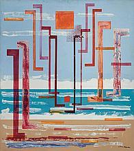 Irene Rice Pereira American, 1907-1971 Sparkle of the Heart, circa 1953